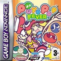 Portada oficial de Puyo Pop Fever para Game Boy Advance