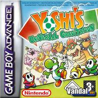 Portada oficial de Yoshi's Universal Gravitation para Game Boy Advance