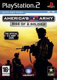 Portada oficial de America's Army: Rise of a Soldier para PS2