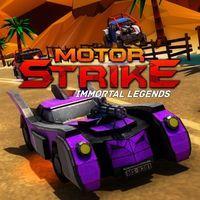 Portada oficial de Motor Strike: Immortal Legends para PS4