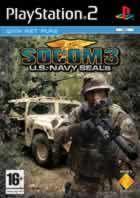 Portada oficial de de Socom III: US Navy Seals para PS2
