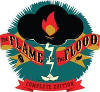 Portada oficial de The Flame in the Flood: The Complete Edition para PS4