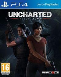 Portada oficial de Uncharted: El Legado Perdido para PS4