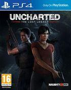 Portada oficial de de Uncharted: El Legado Perdido para PS4