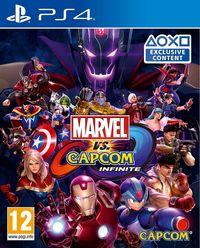 Portada oficial de Marvel vs. Capcom: Infinite para PS4