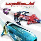 Portada oficial de de Wipeout Omega Collection para PS4