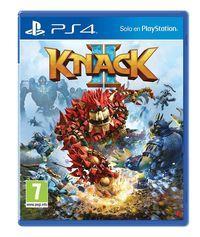 Portada oficial de Knack 2 para PS4