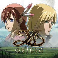 Portada oficial de Ys Origin para PS4