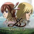Portada oficial de de Ys Origin para PS4