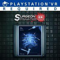 Portada oficial de Surgeon Simulator: Experience Reality para PS4