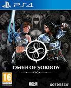 Portada oficial de de Omen of Sorrow para PS4