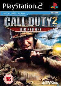 Portada oficial de Call of Duty 2: Big Red One para PS2