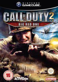 Portada oficial de Call of Duty 2: Big Red One para GameCube