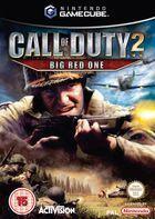 Portada oficial de de Call of Duty 2: Big Red One para GameCube