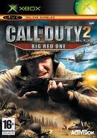 Portada oficial de de Call of Duty 2: Big Red One para Xbox