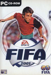 Portada oficial de FIFA 2001 para PC