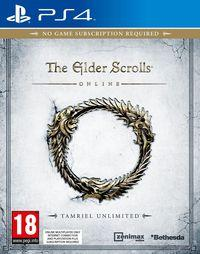Portada oficial de The Elder Scrolls Online para PS4