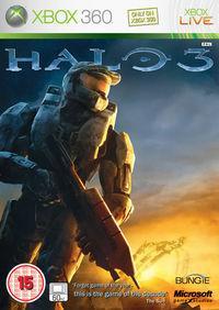 Portada oficial de Halo 3 para Xbox 360