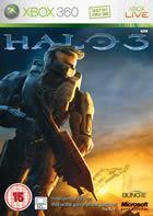 Portada oficial de de Halo 3 para Xbox 360