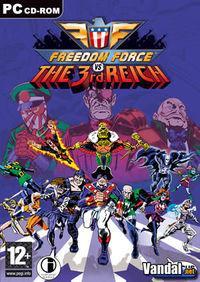 Portada oficial de Freedom Force vs Third Reich para PC
