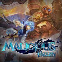 Portada oficial de Malicious Fallen para PS4