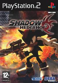 Portada oficial de Shadow the Hedgehog para PS2