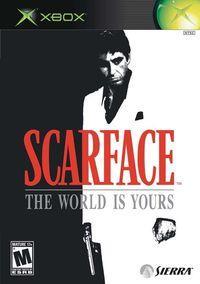 Portada oficial de Scarface para Xbox