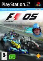 Portada oficial de de Formula One 2005 para PS2