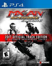 Portada oficial de MX vs. ATV 2017 Official Track Edition para PS4