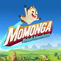 Portada oficial de Momonga Pinball Adventures para PS4
