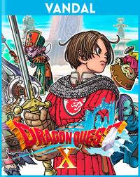 Portada oficial de Dragon Quest X para Switch
