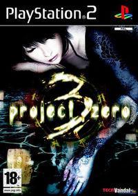 Portada oficial de Project Zero 3 para PS2