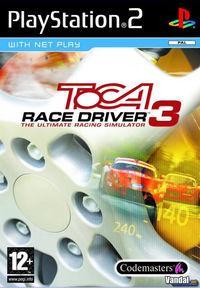 Portada oficial de TOCA Race Driver 3 para PS2