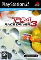 Portada oficial de de TOCA Race Driver 3 para PS2