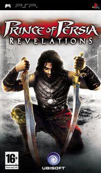 Portada oficial de Prince of Persia Revelations para PSP