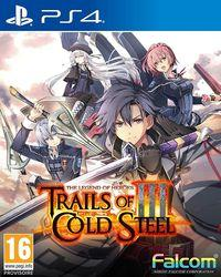 Portada oficial de The Legend of Heroes: Trails of Cold Steel III para PS4