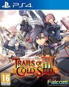 Portada oficial de de The Legend of Heroes: Trails of Cold Steel III para PS4