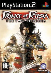Portada oficial de Prince of Persia: The Two Thrones para PS2