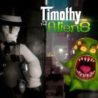 Portada oficial de Timothy vs the Aliens para PS4