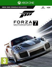 Portada oficial de Forza Motorsport 7 para Xbox One