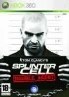Portada oficial de de Splinter Cell: Double Agent para Xbox 360