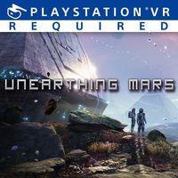Portada oficial de Unearthing Mars para PS4