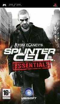Portada oficial de Splinter Cell Essentials para PSP