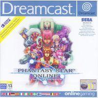 Portada oficial de Phantasy Star Online para Dreamcast