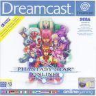 Portada oficial de de Phantasy Star Online para Dreamcast