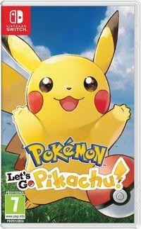 Portada oficial de Pokémon: Let's Go, Pikachu! / Let's Go, Eevee! para Switch
