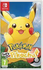 Portada oficial de de Pokémon: Let's Go, Pikachu! / Let's Go, Eevee! para Switch