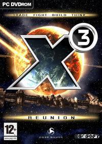 Portada oficial de X3: Reunion para PC