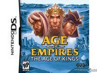 Portada oficial de Age of Empires 2: The Age of Kings para NDS