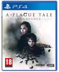 Portada oficial de A Plague Tale: Innocence para PS4